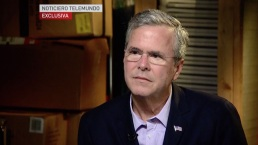 Jeb Bush Gives Spanish-Language Interview