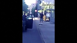 Video Shows Portland Stabbing Suspect Moments After the Incident