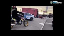 Video Shows Motorcyclists Surround Lone NYPD Officer