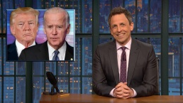 'Late Night': Trump Trades Barbs With Biden