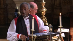 American Reverend Evokes MLK at Royal Wedding