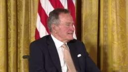 Former President George H.W. Bush Hospitalized