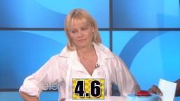 """Ellen"": Pamela Anderson Plays ""5 Second Rule"""