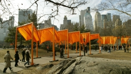 It's Been 11 Years Since Artists Draped Fabric Through Central Park