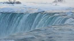 Niagara Falls Ices Over