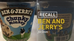 Ben & Jerry's Issues Limited Chunky Monkey Recall