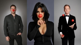 Celebrities Celebrate Red Nose Day