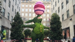 Easter at Rockefeller Center