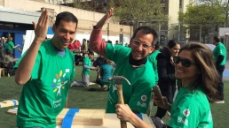 NBC 4 New York Volunteers for Comcast Cares Day