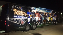 Take a Peek Inside the 'Sunday Night Football' Bus