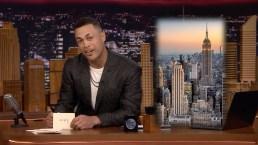 'Tonight': Giancarlo Stanton Writes a Thank You Note to NYC