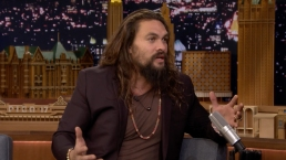 'Tonight': Jason Momoa Talks 'Aquaman'