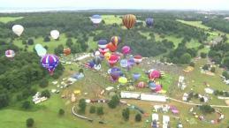 Europe's Largest Balloon Festival Takes Flight