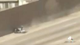 CHP Officer in President Motorcade Hurt in Crash