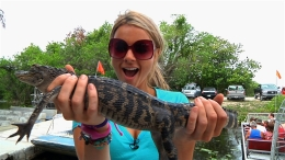 Airboat Captain Ali Braves the Beasts of the Everglades