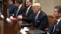 Trump Focuses on Jobs for First Working Day