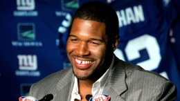 "Strahan's ""Dream Job"""