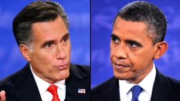 Obama, Romney Clash on Taxes in First Debate