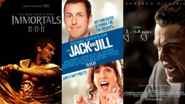 "This Week's New Movies: ""Immortals,"" ""Jack & Jill,"" ""J. Edgar"" & More"