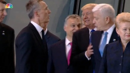 Trump Pushes Aside a Prime Minister