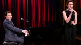 Fallon, Hathaway Sing Broadway Versions of Rap Songs