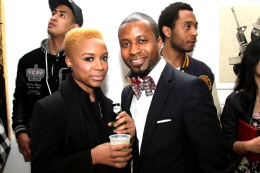 NitePics: Damon Dash & Erykah Badu Host Opening at 172DD Gallery
