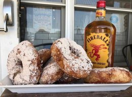 A New Jersey Bagel Shop Has Created a Fireball Whiskey Bagel