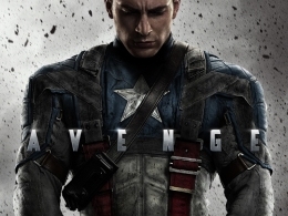 """Captain America"" Moves Ahead of the Pack With New Poster"