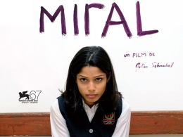 "Schnabel's ""Miral,"" Starring Freida Pinto Drops Pics and Trailer, Due in Dec."