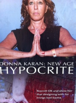 Donna Karan Is Getting Pelted By PETA