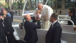 Baby Kissed by Pope Sees Brain Tumor Shrink: Family