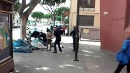 LAPD Chief on Skid Row Shooting: Man