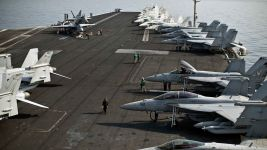 U.S. Pulls Aircraft Carrier Out of Persian Gulf