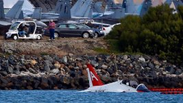 Navy Pilot Ejects After Jet Runs Off Runway Near San Diego