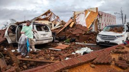 20 Dead Amid Reported Tornadoes in South