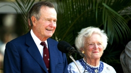 George H.W. Bush Breathing on His Own, Saw Inauguration