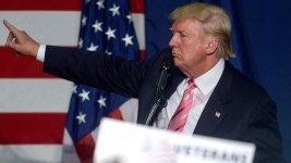 Donald Trump Makes Texas Campaign Swing