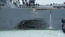 Remains of Some Missing US Sailors Found on Damaged Warship