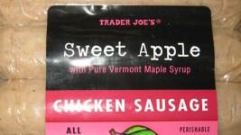 Company Recalls Chicken Sausage Sold at Trader Joe's