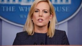'Shame': Protesters Disrupt DHS Secretary's Restaurant Visit