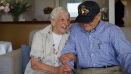WWII Vet Reunites With Wartime Girlfriend in Australia