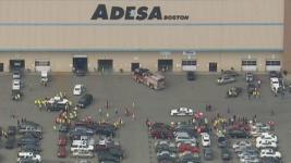 8 Hurt When Car Plows Into Group at Auto Auction