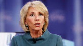 WH Gives DeVos Cold Shoulder After She Stumbles in Interview