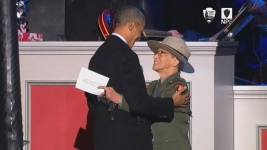 Thief Punches Oldest Park Ranger, Steals Presidential Coin