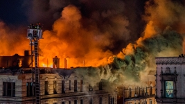 9 Hurt As Massive Blaze Rips Through NYC Building: FDNY