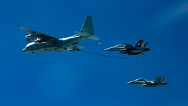 2 US Warplanes Crash Off Japan; 1 Dead, 5 Missing