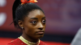 Biles Bothered by New USA Gymnastics CEO's Anti-Nike Tweet