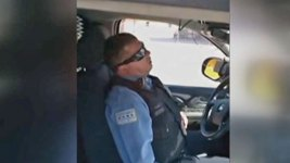 Officer Sleeping in Squad Car Suspended Without Pay