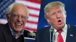 Bernie Sanders, Donald Trump Winners in NH