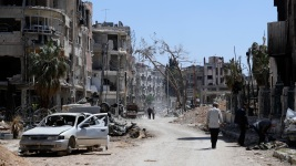 UN Team Fired on at Site of Alleged Gas Attack in Syria